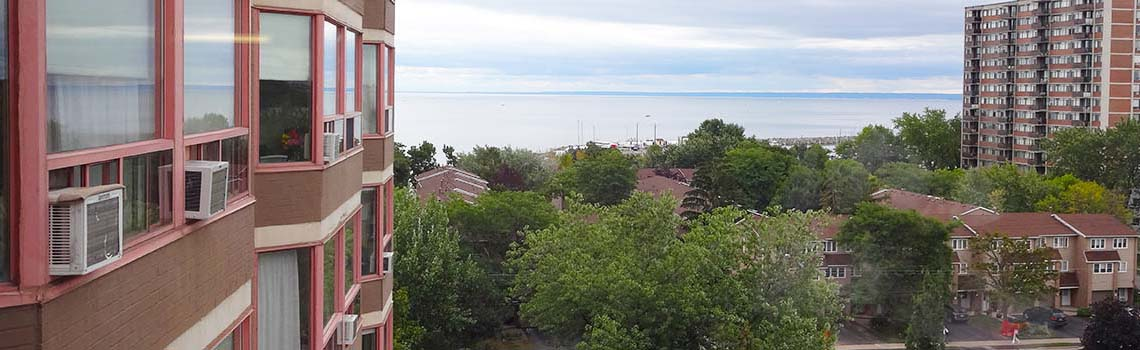 View of Lake Ontario from OSCR